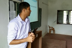 quiz-compitation-was-conducted-by-Ponnapa-A.M-to-1st-BBA-students